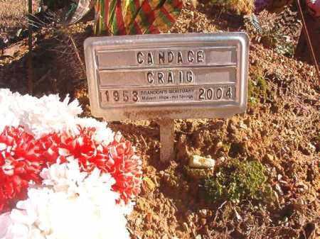 CRAIG, CANDACE - Dallas County, Arkansas   CANDACE CRAIG - Arkansas Gravestone Photos