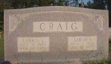 CRAIG, LARKIN L - Dallas County, Arkansas   LARKIN L CRAIG - Arkansas Gravestone Photos