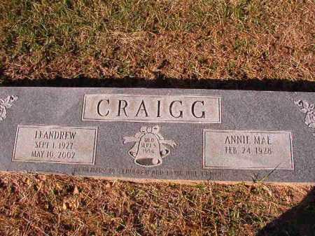CRAIGG, LEANDREW - Dallas County, Arkansas | LEANDREW CRAIGG - Arkansas Gravestone Photos