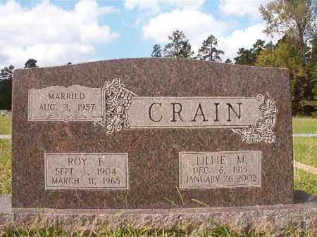 CRAIN, ROY F - Dallas County, Arkansas | ROY F CRAIN - Arkansas Gravestone Photos