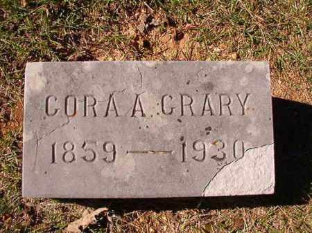 CRARY, CORA A - Dallas County, Arkansas   CORA A CRARY - Arkansas Gravestone Photos