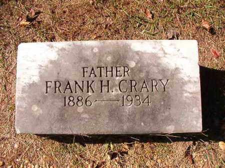 CRARY, FRANK H - Dallas County, Arkansas   FRANK H CRARY - Arkansas Gravestone Photos