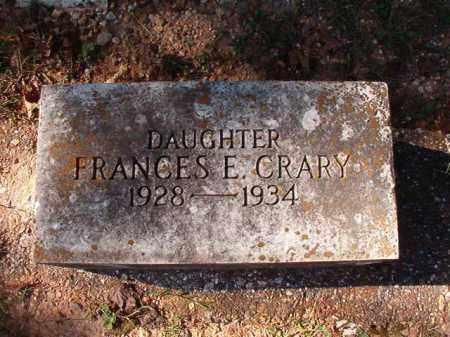 CRARY, FRANCES E - Dallas County, Arkansas | FRANCES E CRARY - Arkansas Gravestone Photos