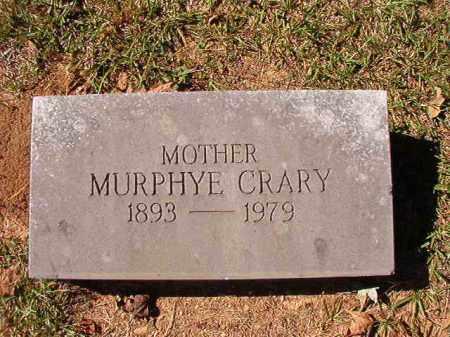CRARY, MURPHYE - Dallas County, Arkansas | MURPHYE CRARY - Arkansas Gravestone Photos