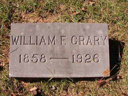 CRARY, WILLIAM F - Dallas County, Arkansas | WILLIAM F CRARY - Arkansas Gravestone Photos