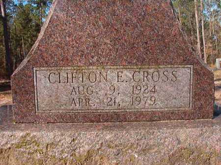 CROSS, CLIFTON E - Dallas County, Arkansas | CLIFTON E CROSS - Arkansas Gravestone Photos