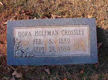 CROSSLEY, DORA - Dallas County, Arkansas | DORA CROSSLEY - Arkansas Gravestone Photos
