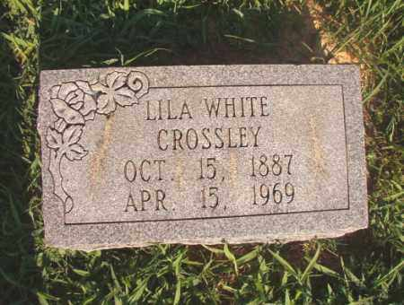 WHITE CROSSLEY, LILA - Dallas County, Arkansas | LILA WHITE CROSSLEY - Arkansas Gravestone Photos