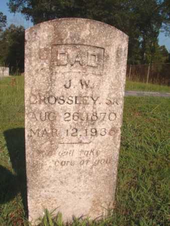 CROSSLEY, SR, J W - Dallas County, Arkansas | J W CROSSLEY, SR - Arkansas Gravestone Photos