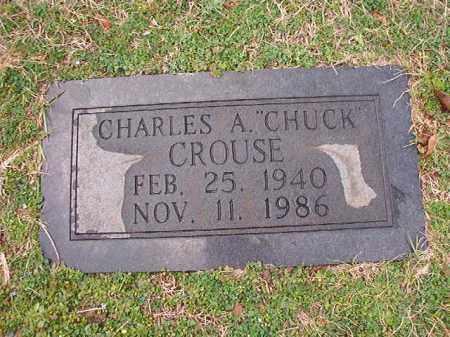 CROUSE, CHARLES A - Dallas County, Arkansas | CHARLES A CROUSE - Arkansas Gravestone Photos