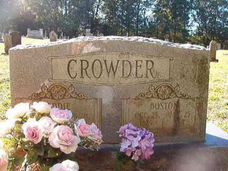 CROWDER, BOSTON - Dallas County, Arkansas   BOSTON CROWDER - Arkansas Gravestone Photos