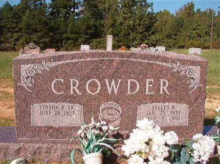 CROWDER, EVELYN R - Dallas County, Arkansas | EVELYN R CROWDER - Arkansas Gravestone Photos