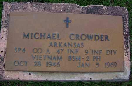 CROWDER (VETERAN VIET, KIA), MICHAEL - Dallas County, Arkansas | MICHAEL CROWDER (VETERAN VIET, KIA) - Arkansas Gravestone Photos