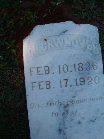 CROWNOVER, T H - Dallas County, Arkansas | T H CROWNOVER - Arkansas Gravestone Photos