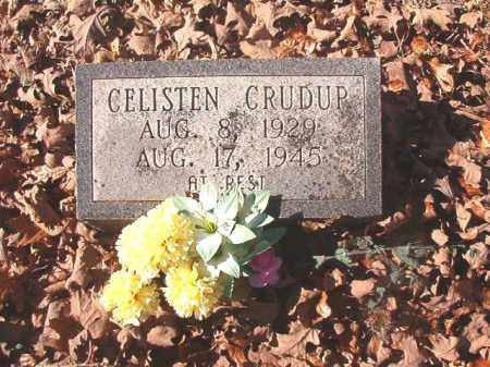 CRUDUP, CELISTEN - Dallas County, Arkansas   CELISTEN CRUDUP - Arkansas Gravestone Photos