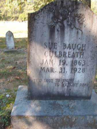 BAUGH CULBREATH, SUE - Dallas County, Arkansas | SUE BAUGH CULBREATH - Arkansas Gravestone Photos