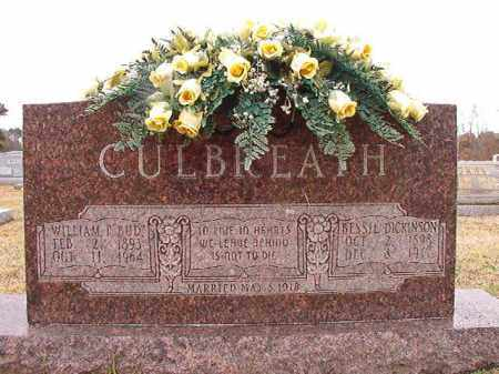 "CULBREATH, WILLIAM F ""BUD"" - Dallas County, Arkansas | WILLIAM F ""BUD"" CULBREATH - Arkansas Gravestone Photos"
