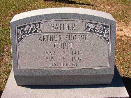 CUPIT, ARTHUR EUGENE - Dallas County, Arkansas | ARTHUR EUGENE CUPIT - Arkansas Gravestone Photos