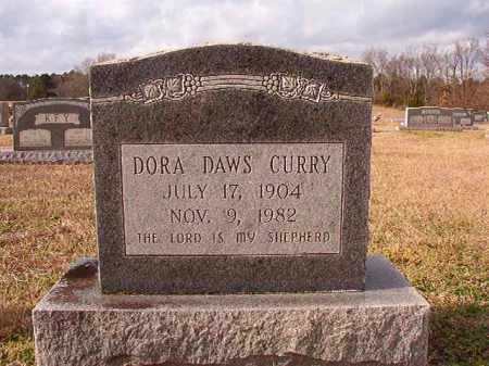 DAWS CURRY, DORA - Dallas County, Arkansas | DORA DAWS CURRY - Arkansas Gravestone Photos