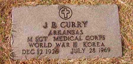 CURRY (VETERAN 2 WARS), J B - Dallas County, Arkansas | J B CURRY (VETERAN 2 WARS) - Arkansas Gravestone Photos