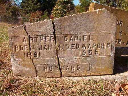 DANIEL, ARTHER - Dallas County, Arkansas   ARTHER DANIEL - Arkansas Gravestone Photos