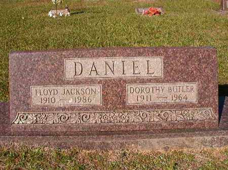 BUTLER DANIEL, DOROTHY - Dallas County, Arkansas | DOROTHY BUTLER DANIEL - Arkansas Gravestone Photos