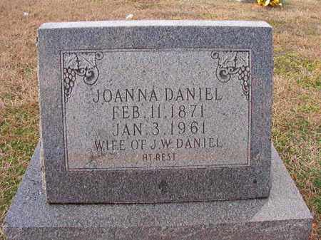 DANIEL, JOANNA - Dallas County, Arkansas | JOANNA DANIEL - Arkansas Gravestone Photos