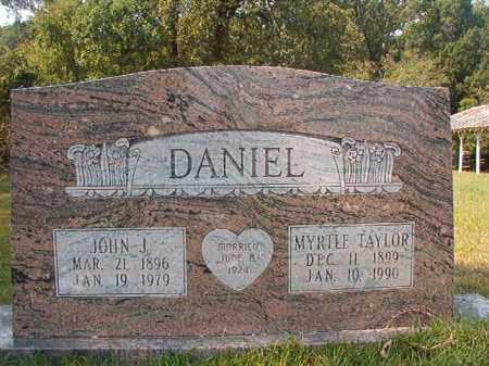 DANIEL, JOHN J - Dallas County, Arkansas | JOHN J DANIEL - Arkansas Gravestone Photos