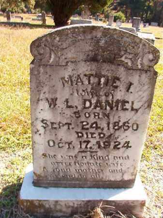 DANIEL, MATTIE I - Dallas County, Arkansas   MATTIE I DANIEL - Arkansas Gravestone Photos