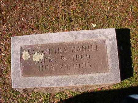 DANIEL, SARAH IDA - Dallas County, Arkansas | SARAH IDA DANIEL - Arkansas Gravestone Photos