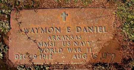 DANIEL (VETERAN WWII), WAYMON E - Dallas County, Arkansas   WAYMON E DANIEL (VETERAN WWII) - Arkansas Gravestone Photos