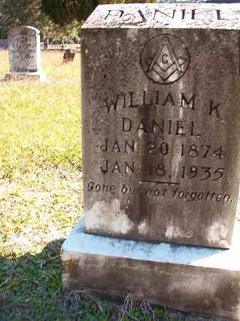 DANIEL, WILLIAM K - Dallas County, Arkansas   WILLIAM K DANIEL - Arkansas Gravestone Photos