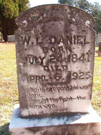 DANIEL, WILLIAM L (BIO) - Dallas County, Arkansas   WILLIAM L (BIO) DANIEL - Arkansas Gravestone Photos