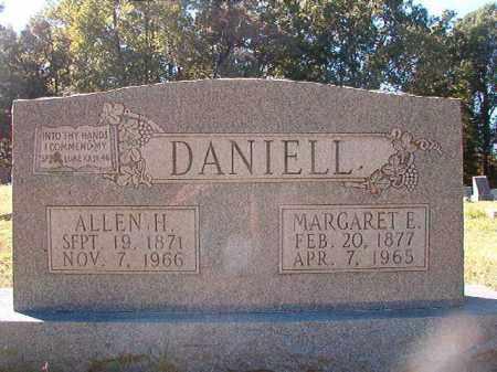 DANIELL, ALLEN H - Dallas County, Arkansas | ALLEN H DANIELL - Arkansas Gravestone Photos