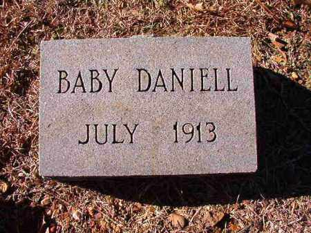 DANIELL, BABY - Dallas County, Arkansas   BABY DANIELL - Arkansas Gravestone Photos
