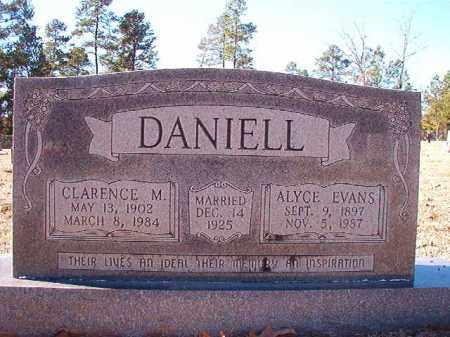 EVANS DANIELL, ALYCE - Dallas County, Arkansas | ALYCE EVANS DANIELL - Arkansas Gravestone Photos