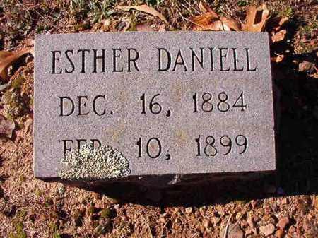 DANIELL, ESTHER - Dallas County, Arkansas | ESTHER DANIELL - Arkansas Gravestone Photos
