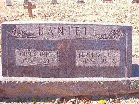 DANIELL, PERLINA JANE - Dallas County, Arkansas   PERLINA JANE DANIELL - Arkansas Gravestone Photos
