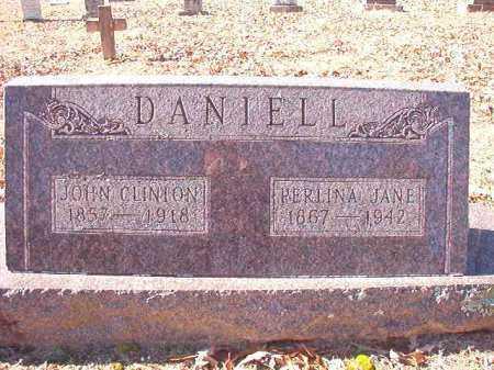 DANIELL, JOHN CLINTON - Dallas County, Arkansas | JOHN CLINTON DANIELL - Arkansas Gravestone Photos