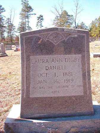 DIGBY DANIELL, LAURA ANN - Dallas County, Arkansas | LAURA ANN DIGBY DANIELL - Arkansas Gravestone Photos