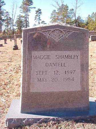 SHAMBLEY DANIELL, MAGGIE - Dallas County, Arkansas | MAGGIE SHAMBLEY DANIELL - Arkansas Gravestone Photos