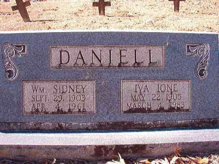 DANIELL, WILLIAM SIDNEY - Dallas County, Arkansas | WILLIAM SIDNEY DANIELL - Arkansas Gravestone Photos