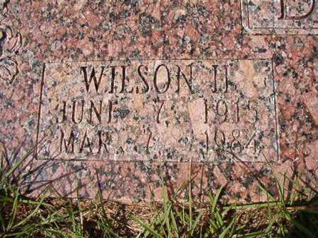 DANIELL, WILSON H - Dallas County, Arkansas   WILSON H DANIELL - Arkansas Gravestone Photos