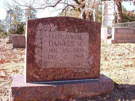 DANIELS, SR, FRED JEWELL - Dallas County, Arkansas | FRED JEWELL DANIELS, SR - Arkansas Gravestone Photos