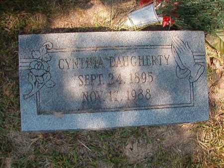 DAUGHERTY, CYNTHIA - Dallas County, Arkansas | CYNTHIA DAUGHERTY - Arkansas Gravestone Photos