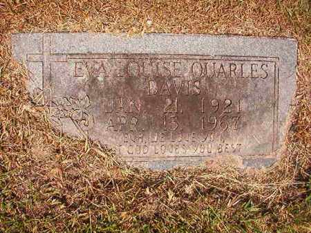 DAVIS, EVA LOUISE - Dallas County, Arkansas | EVA LOUISE DAVIS - Arkansas Gravestone Photos