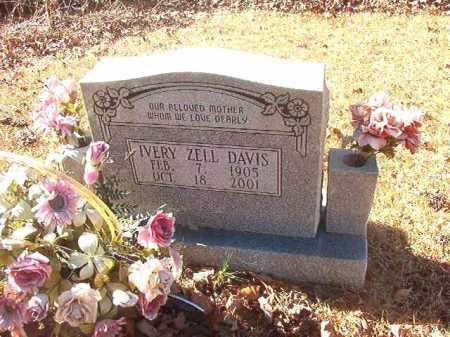 DAVIS, IVERY ZELL - Dallas County, Arkansas | IVERY ZELL DAVIS - Arkansas Gravestone Photos