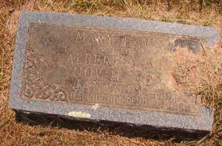 DAVIS, MARY - Dallas County, Arkansas | MARY DAVIS - Arkansas Gravestone Photos