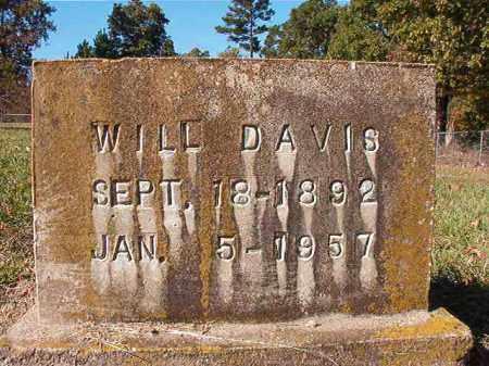 DAVIS, WILL - Dallas County, Arkansas   WILL DAVIS - Arkansas Gravestone Photos