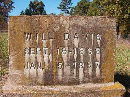 DAVIS, WILL - Dallas County, Arkansas | WILL DAVIS - Arkansas Gravestone Photos